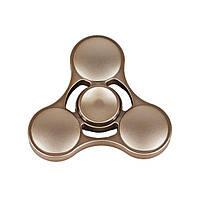 Прохладный пластиковый стресс-рельеф Игрушечный рука Fidget Spinner - Золотой
