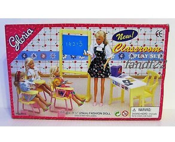 Кукольная мебель Глория Gloria 9916 Школа