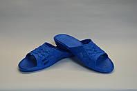 Шлепанцы плетение женские синие оптом Dreamstan, фото 1