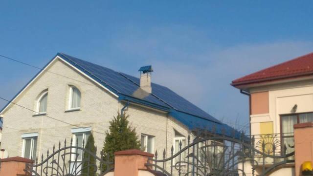 Сетевая СЕС мощностью 10 кВт , Львовская область ! -1