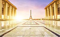 Картина для современного интерьера на стекле  30х40 см Париж 1