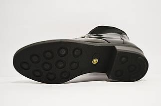 Ботинки лаковые черные Fabio Monelli, фото 3