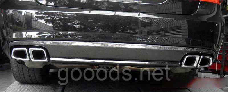 Насадки глушителя Mercedes W212 E63 AMG