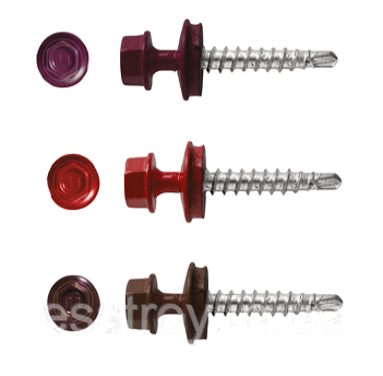 Саморезы для металлочерепицы по металлу X-TECH /250шт