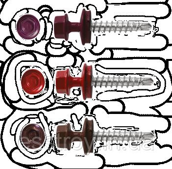 Саморезы для металлочерепицы по металлу X-TECH /250шт, фото 2
