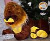 Плюшевый лев Симба лежащий, длина 110 см, фото 7