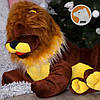 Плюшевый лев Симба лежащий, длина 110 см