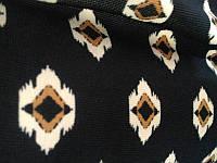 Ткань Трикотаж Отто принт Рубчик