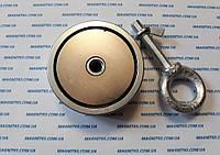 Двухсторонний поисковый неодимовый магнит на F2*200 кг Польша