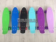 Пенни борд со светящимися колесами пени скейт скейтборд
