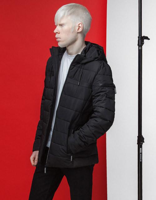 Японская куртка весна-осень 4541 черная