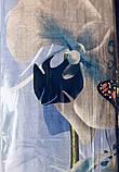 """Комплект постельного белья ТМ """"Ловец снов"""", Орхидея голубая (бязь), фото 3"""