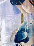 """Комплект постельного белья ТМ """"Ловец снов"""", Орхидея голубая (бязь), фото 5"""