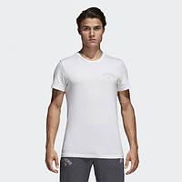 Хлопковая футболка Adidas Real Madrid Street Graphics Tee CF0545 - 2018