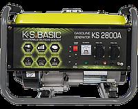 Бензиновий генератор KS 2800A (2,8 кВт)
