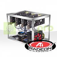 Майнинг ферма на 4 GPU RX 470 4GB