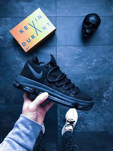 "Мужские кроссовки Nike Zoom KDX ""Blk Dark Grey"" АТ-722"