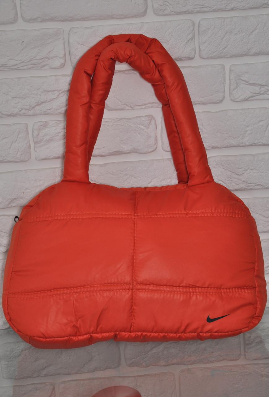 4d13aac01ed1 Спортивная сумка Nike модель Пуховик. (Оранжевый+Черный). Лучшие цены!!!  210 грн. В наличии. Купить