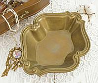 Старая бронзовая конфетница, салатница, бронза, Германия, Gilde, фото 1