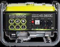 Бензиновий генератор KS 2800C (2,8 кВт)