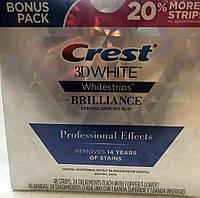 Поштучно Crest 3D White отбеливающие полоски Brilliance Professional Effects (поштучно) USA