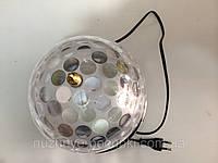 Ночник светильник (диско шар) флешка+пульт
