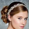 Повязка на голову ХИЗЕР свадебный веночек для волос аксессуары модные