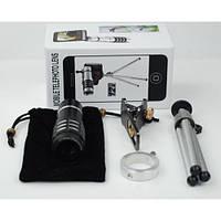 Съемный объектив для смартфона на штативеMobile Telephoto Lens 12x