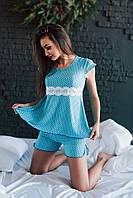 Пижама летняя в горошек