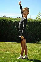 Купальник гимнастический с длинным рукавом Бифлекс