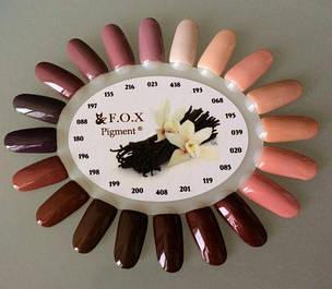 Гель-лаки F.O.X Pigment 6 мл