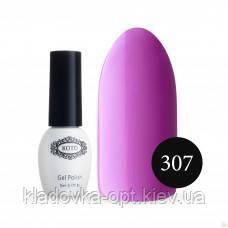 Гель-лак KOTO №307 (сиренево-розовый, эмаль), 5 мл