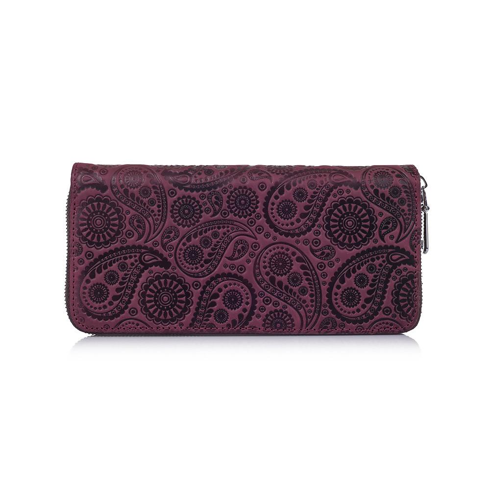 """Эргономический кошелек фиолетового цвета, коллекция """"Buta Art"""""""