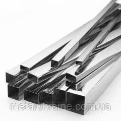 Труба AISI 304 квадратная нержавеющая 100х100х2.0 мм