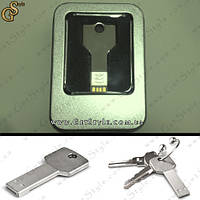 "Флешка в форме ключа - ""USB Key"" - на  32 Gb + подарочная упаковка, фото 1"