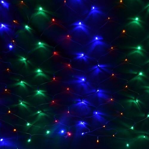 Светодиодная сеть 1.5х1.5 м 120LED 10Вт IP20 Color mix