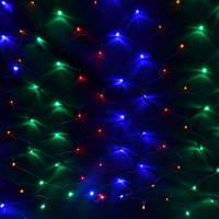 Светодиодная сеть 1.5х1.5 м 120LED 10Вт IP20 Color mix, фото 1