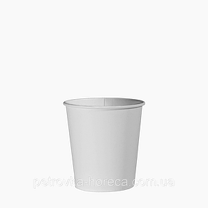 Стакан паперовий 110 мл. 50шт. (84/4200) Білий