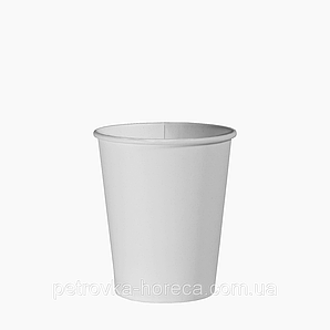 Стакан паперовий 175 мл. 50шт.(54/2700) Білий