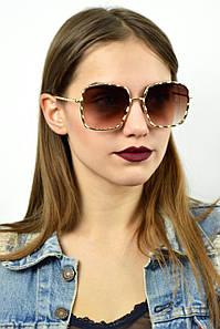 Cолнцезащитные женские очки реплика MARC JACOBS коричневые