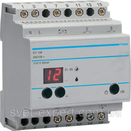Пристрій дистанційного керування Hager EV108