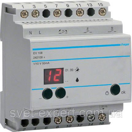 Пристрій дистанційного керування Hager EV108, фото 2