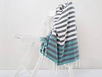 Полотенце пляжное Irya Lodos голубое 90*170
