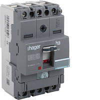 Автоматический выключатель x160, In=16А, 3п, 18kA, Тфикс./Мфикс., Hager