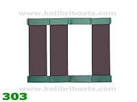 Пайол слань-коврик КМ260 - КМ280 коричневая