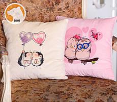 Декоративная подушка Совушки