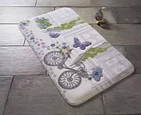 Коврик для ванной 80х140 Confetti Spilled Flowers Purple