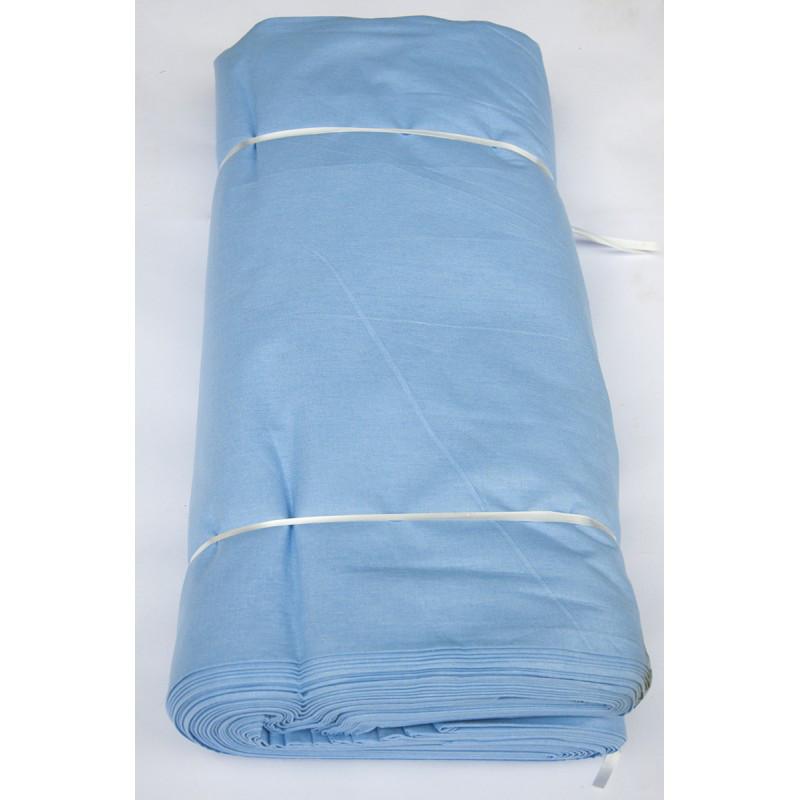 Ткань ранфорс premium Турция - голубой k2 (220 ширина, заказ от 30 м/пог)