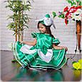 Красивое карнавальное платье Подснежник, фото 2