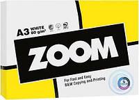 Бумага офисная А3, ZOOM, 80 г/м2, 500 листов класс C